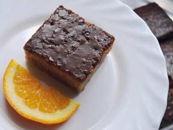 Food Art Print featuring the photograph Chocolate And Orange by Marija Djedovic
