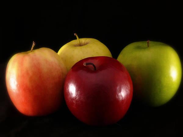 Apple Art Print featuring the photograph Choices by Lucian Badea