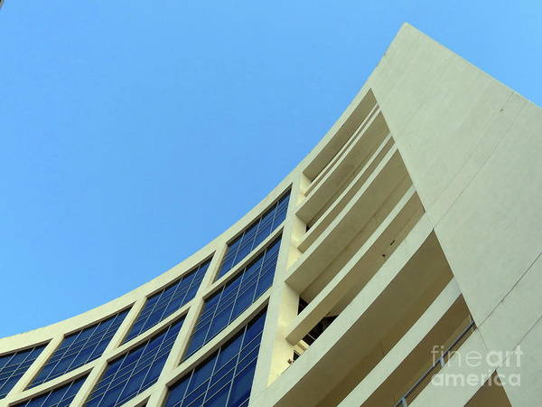 Building.modern Architecture Art Print featuring the photograph Clean Lines by Carlos Amaro