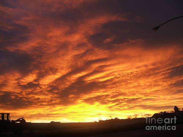 Sunrise Art Print featuring the photograph Colorado Sunrise 4 by Nancy Rucker