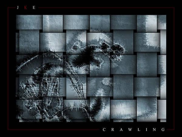 Crawling Art Print featuring the photograph Crawling by Jonathan Ellis Keys
