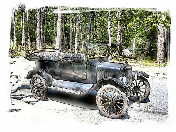 Vehicle Art Print featuring the photograph Cruisin' by Rose Guay