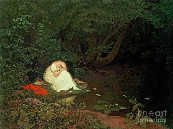 Disappointed Art Print featuring the painting Disappointed Love by Francis Danby