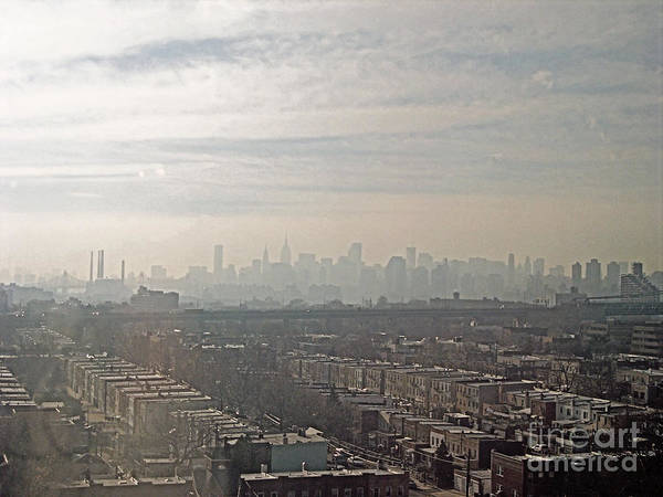 Brooklyn Art Print featuring the photograph Distant City by Paulette B Wright