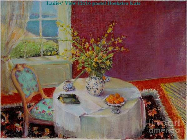 Interior Art Print featuring the painting Dorothy S View  Copyrighted by Kathleen Hoekstra