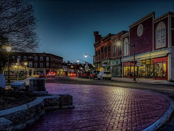 Art Print featuring the photograph Downtown by Kendall McKernon