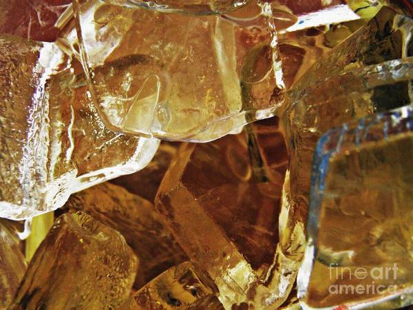 Abstract Art Print featuring the photograph Dunkin Ice Coffee 6 by Sarah Loft