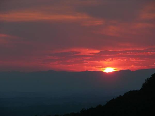 Sunset Art Print featuring the photograph Edge Of Fire by John Geck