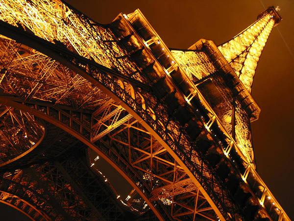 Eiffel Art Print featuring the photograph Eiffel Tower Paris France by Gene Sizemore
