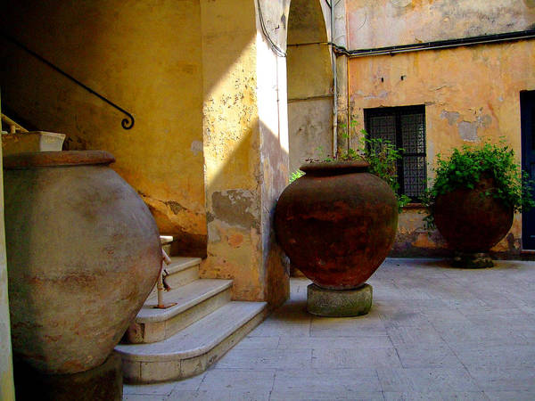 Tarquinia Art Print featuring the photograph Etruscan Tarquinia Italy North Of Rome by Mindy Newman
