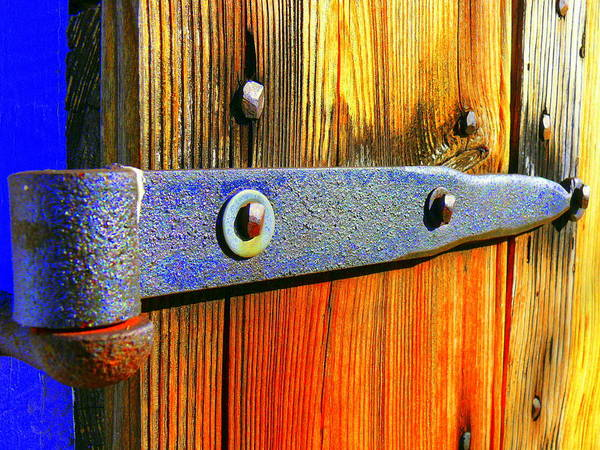 Wood Art Print featuring the photograph Everything Hinges Upon by Kirk Long