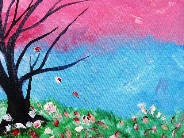 Home Decor Art Print featuring the painting Floral Fragrance by Trilby Cole