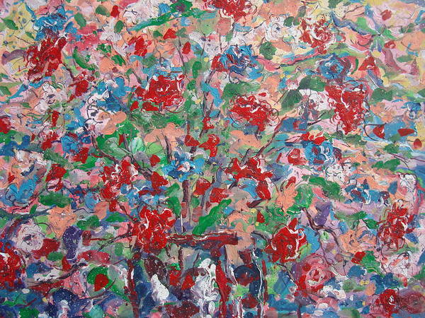 Painting Art Print featuring the painting Full Bloom. by Leonard Holland