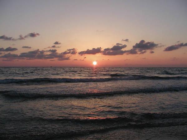 Gulf Art Print featuring the photograph Gulf Sunset by Bill Cannon