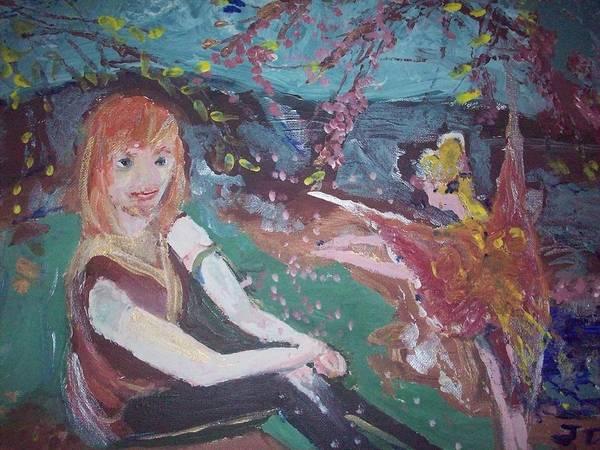 Hammy Art Print featuring the painting Hammy Havoc by Judith Desrosiers