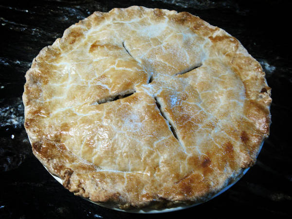 Cooking Art Print featuring the photograph Handcrafted Apple Pie by Rachel Knight