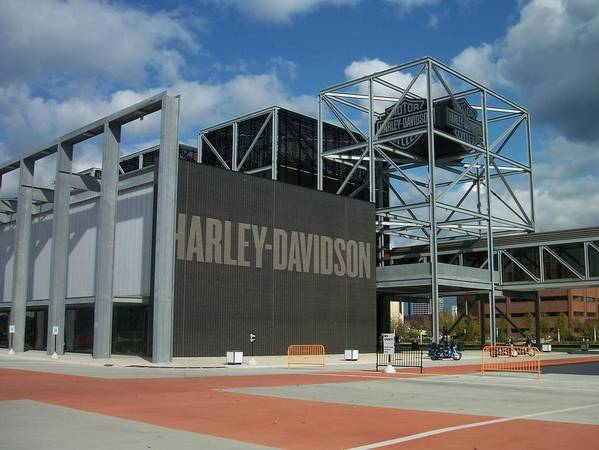 Art Print featuring the photograph Harley Museum by Anita Burgermeister