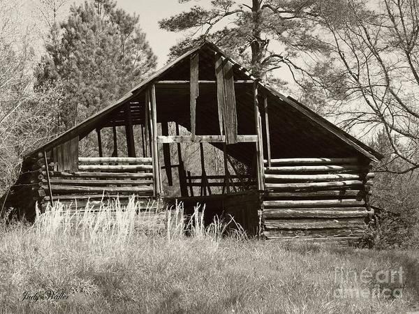 Barn Art Print featuring the photograph Hay Barn by Judy Waller