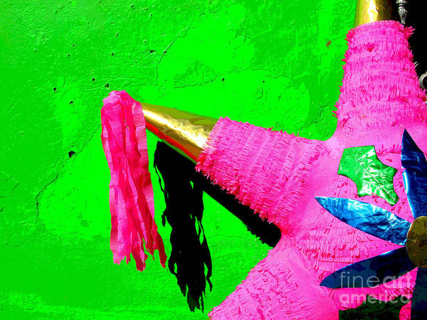 Darian Day Art Print featuring the photograph Holiday Pinata By Darian Day by Mexicolors Art Photography