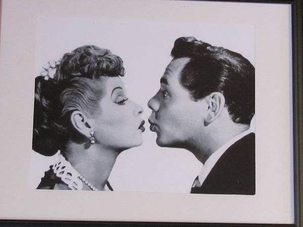 The World's Favorite Red Head Art Print featuring the photograph I Love Lucy by Shawn Hughes