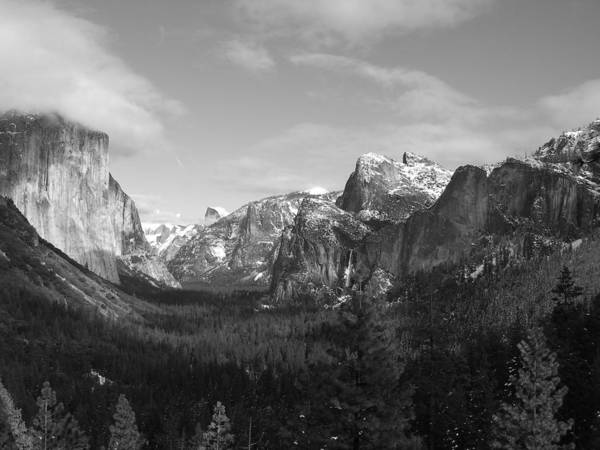 Yosemite Art Print featuring the photograph Inspiration Point by Travis Day