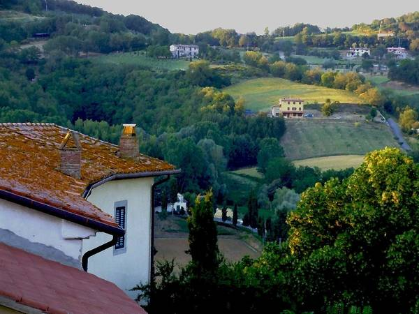 Landscape Art Print featuring the photograph Italian Morn by Chuck Shafer