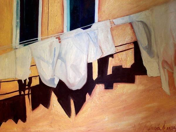 Art Print featuring the painting Italian Wash by Patricia Arroyo