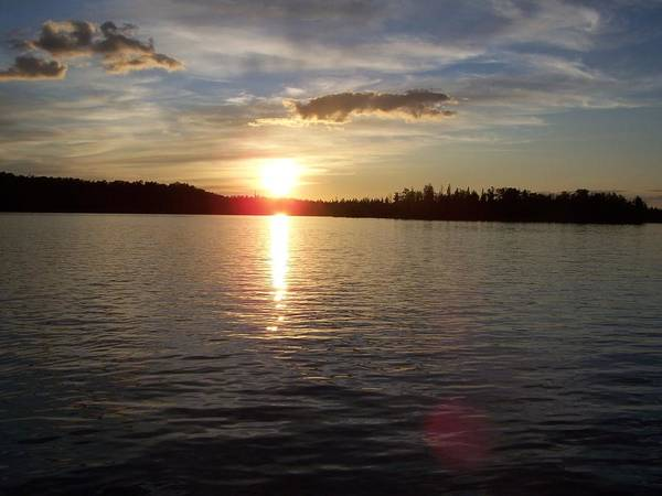 Minnesota Art Print featuring the photograph Lake Wilson Sunset by Wendy Smith