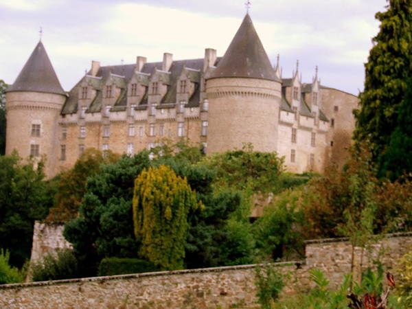 Art Print featuring the photograph Le Chateau De Rochechouart by Rusty Gladdish