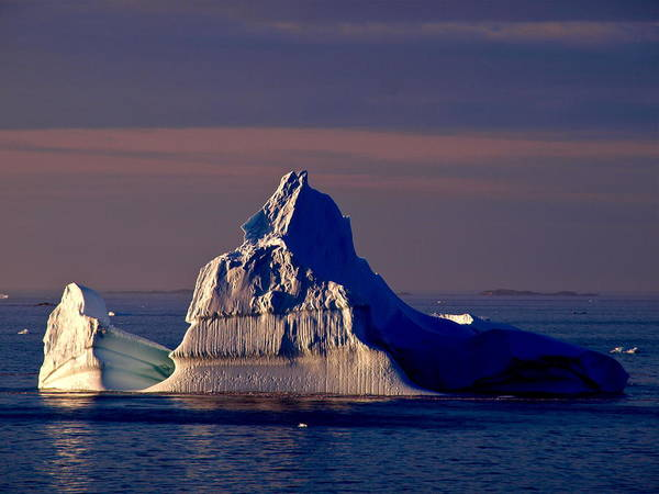 Iceberg Art Print featuring the photograph Lemaire Channel Antarctica 31 by Per Lidvall