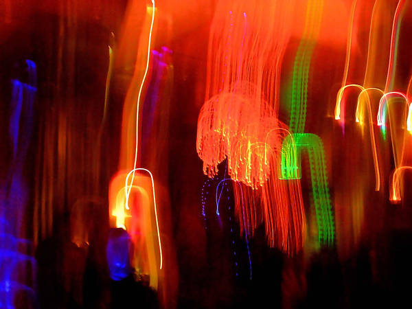 Abstract Art Print featuring the photograph Light Falling by Elizabeth Hoskinson