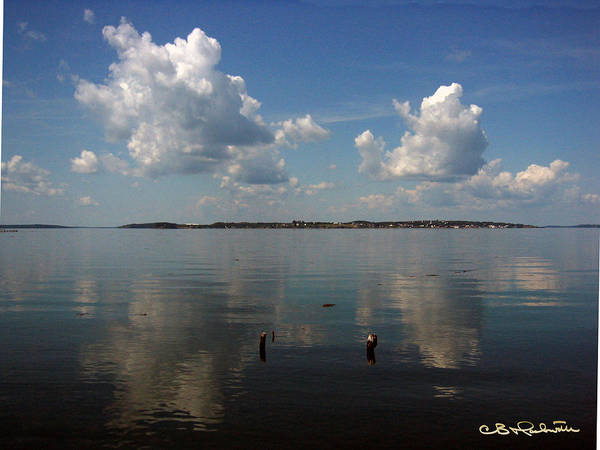 Lubec Art Print featuring the photograph Lubec by CB Hackworth