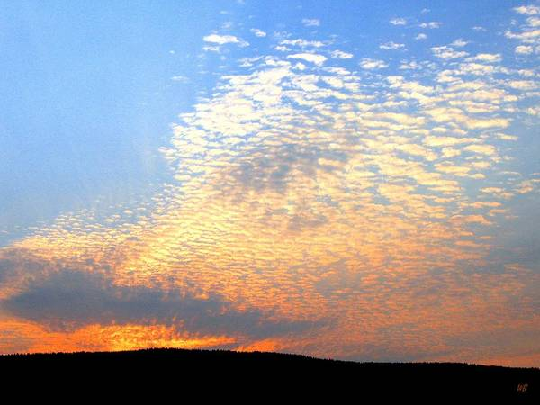 Mackerel Sky Art Print featuring the photograph Mackerel Sky by Will Borden