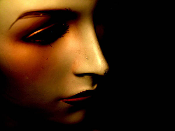 Mannequin Art Print featuring the photograph Mannequin by Angela Conway