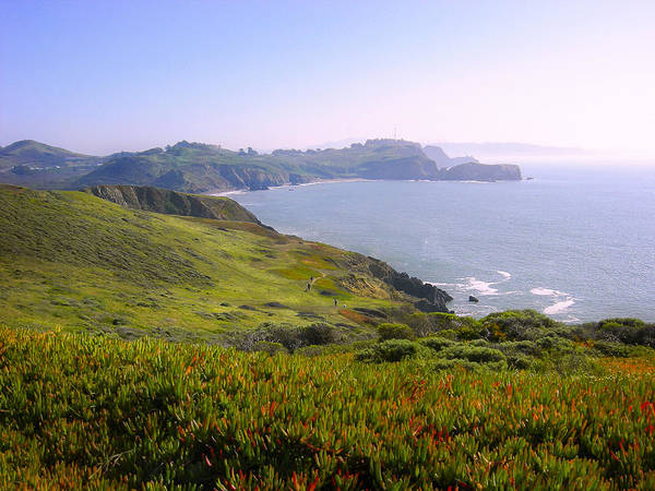 Landscape Art Print featuring the photograph Marin Headlands 2 by Karen W Meyer