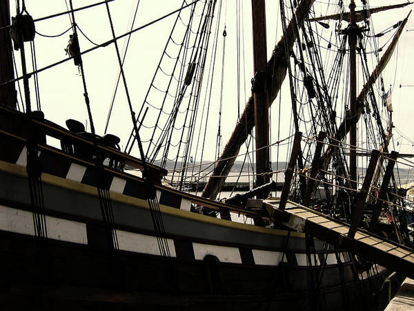 Wooden Ship Art Print featuring the photograph Master And Commander V2 by Douglas Barnard