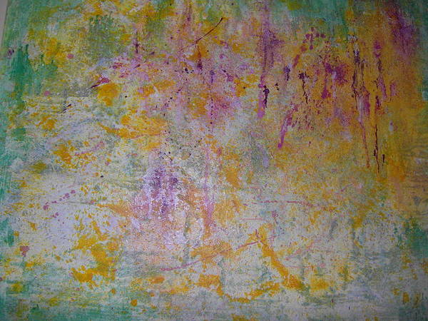 Nature Art Print featuring the painting Medios Incompatible by Mari Carmen Pascual