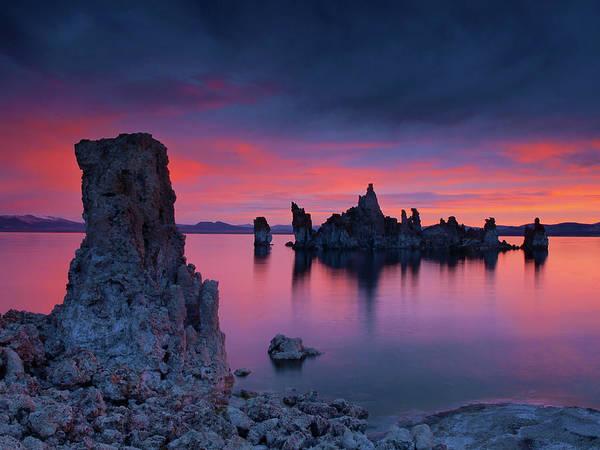 Eastern Sierra Art Print featuring the photograph Mono Lake Sunrise by Chris Morrison