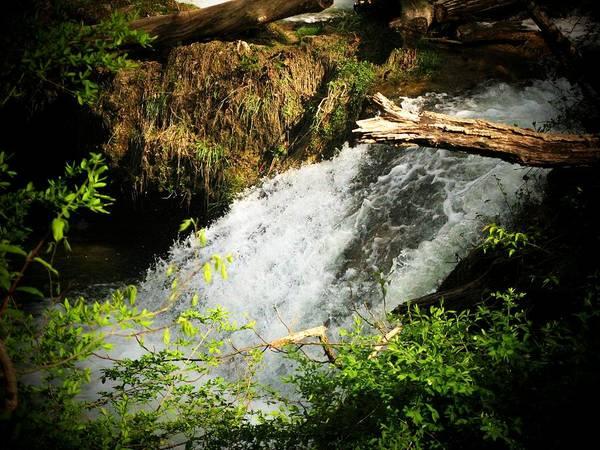 Waterfall Art Print featuring the photograph Mountain Waterfall by Joyce Kimble Smith