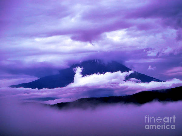 Mt Fuji Art Print featuring the photograph Mt Fuji by Yvonne Johnstone