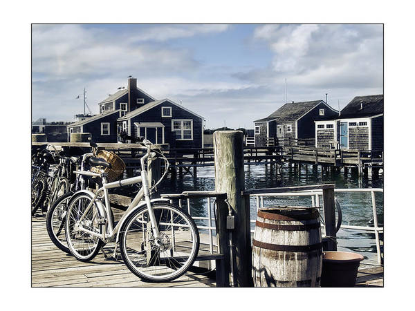 Nantucket Art Print featuring the photograph Nantucket Bikes 1 by Tammy Wetzel