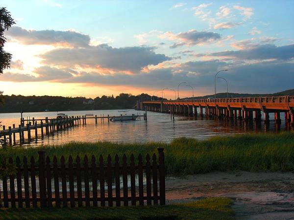 Navesink River Art Print featuring the photograph Navesink by Caroline Urbania Naeem