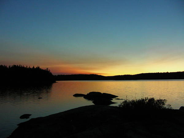 Landscape Art Print featuring the photograph Northern Dusk by Peter McIntosh