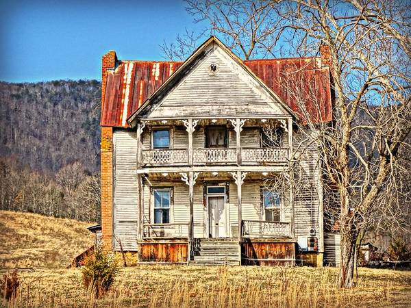 Farms Art Print featuring the photograph Old Homestead by Keri Butcher