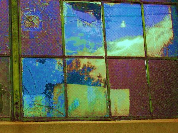 Scranton Art Print featuring the photograph Old Lace Factory Window by Don Struke