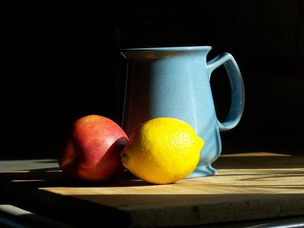 Still Life Art Print featuring the photograph On The Table 1- Photograph by Jackie Mueller-Jones
