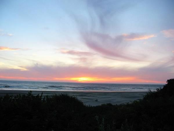 Nature Art Print featuring the photograph Oregon Coast Sunset by Mirinda Kossoff