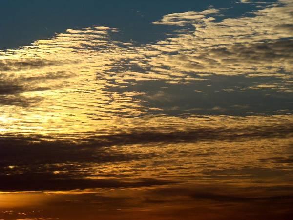 Sky Art Print featuring the photograph Painted Sky Four by Ana Villaronga