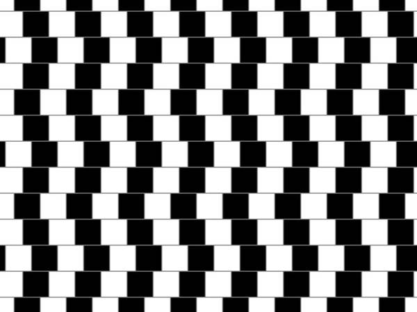 Optical Illusion Art Print featuring the digital art Parallel Lines by Michael Tompsett