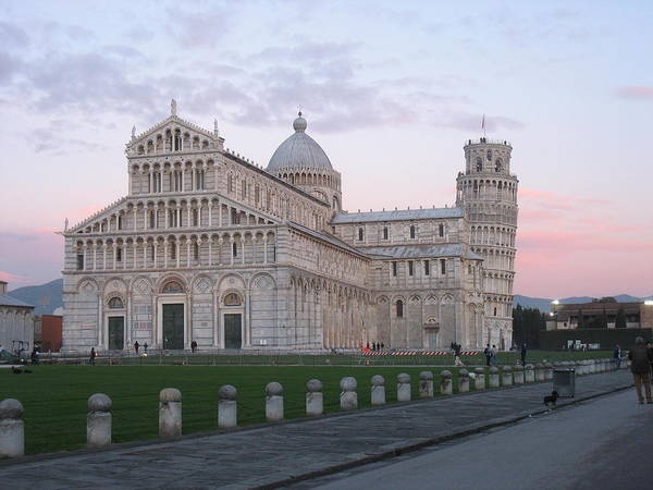Pisa Art Print featuring the photograph Pisa Sunset by Paul Shier